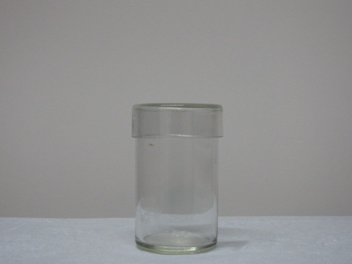 Beker met deskel 50 ml