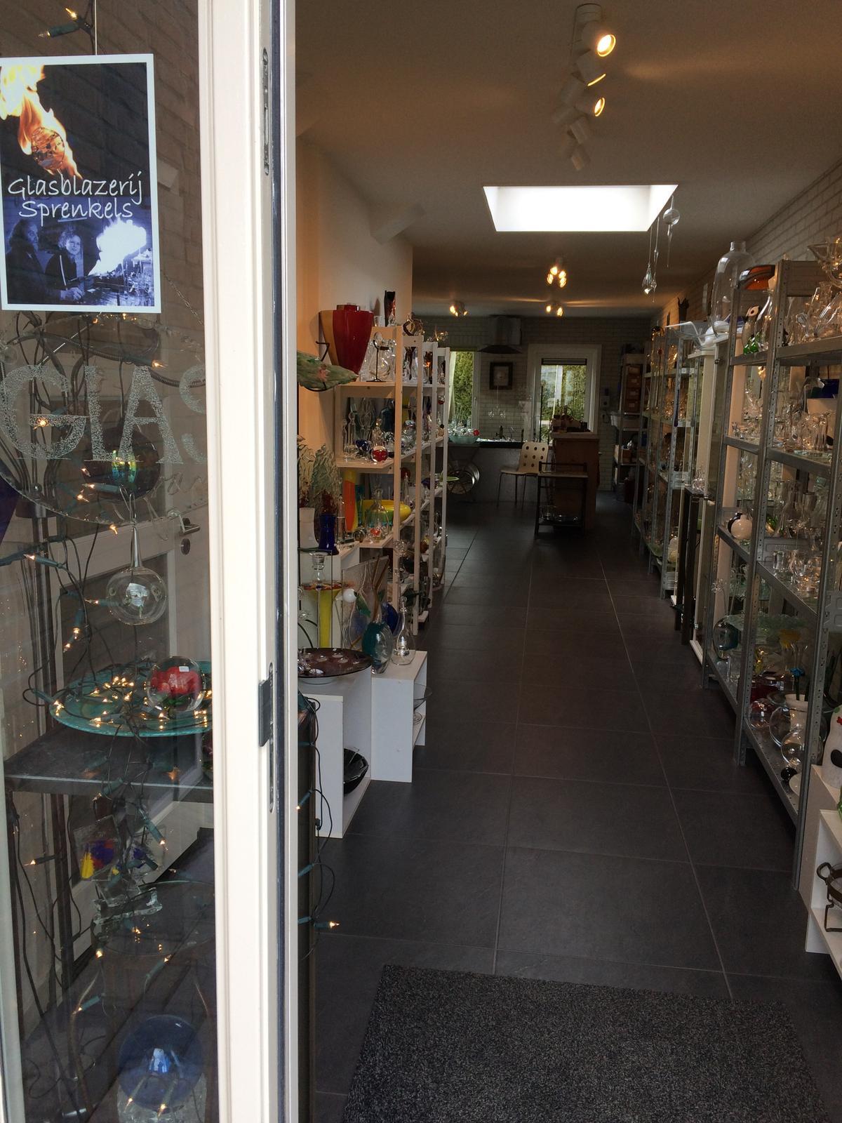 Glasblazerij Sprenkels Winkel