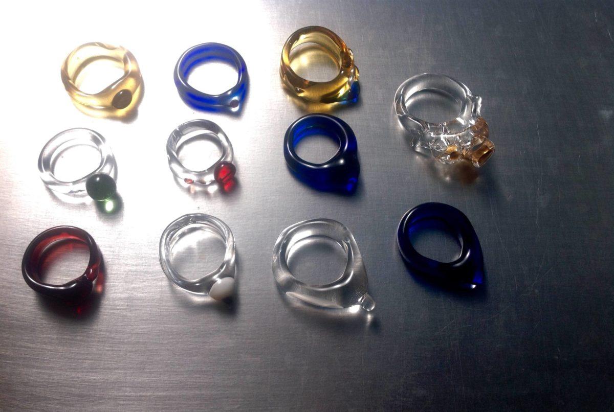 Glazen ringen