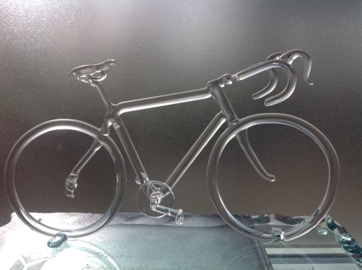 Wielrenners fiets