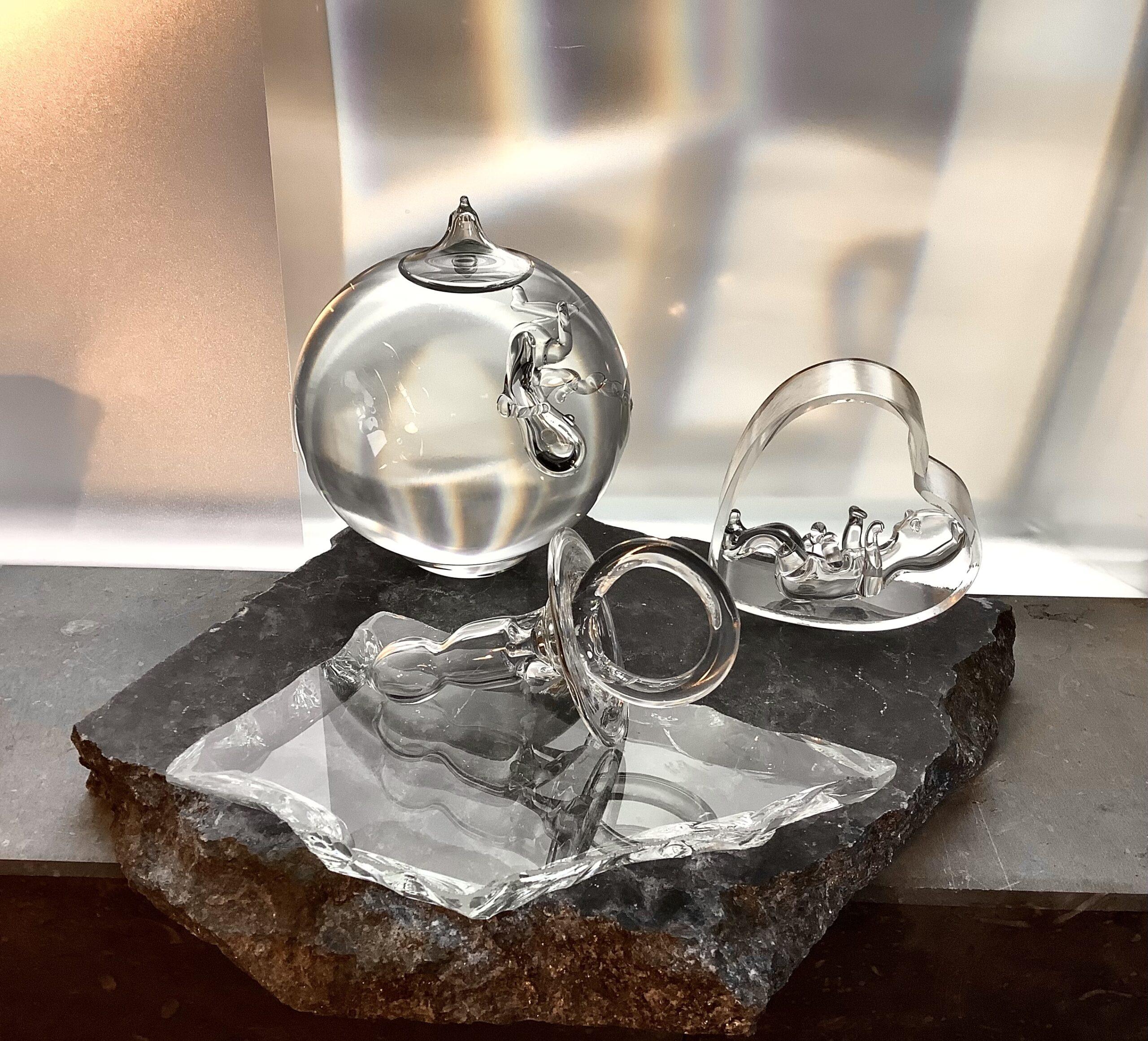 Diversen baby objecten