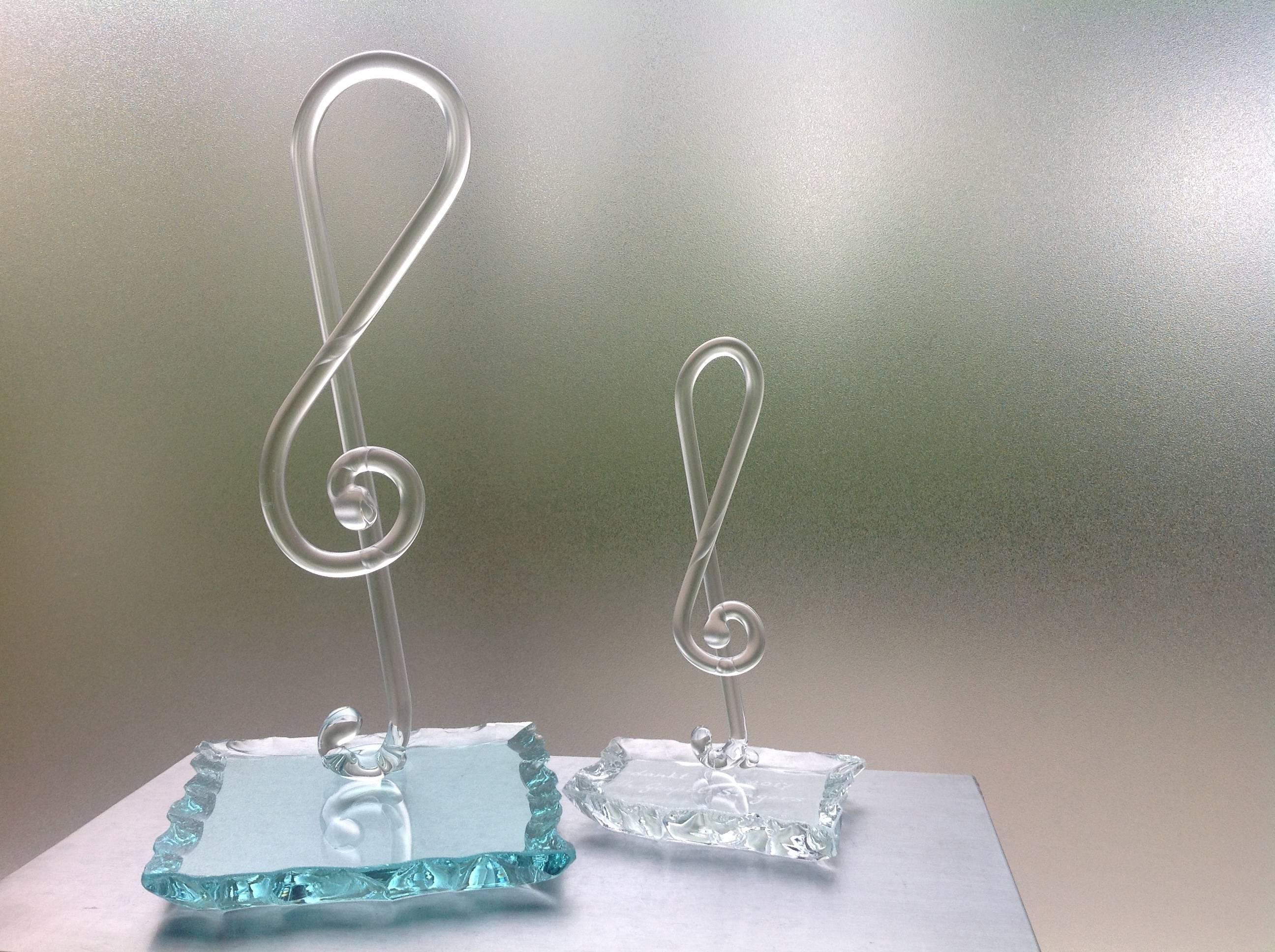 Glazen Muzieksleutels