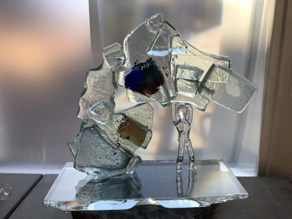 Glaskunst steun