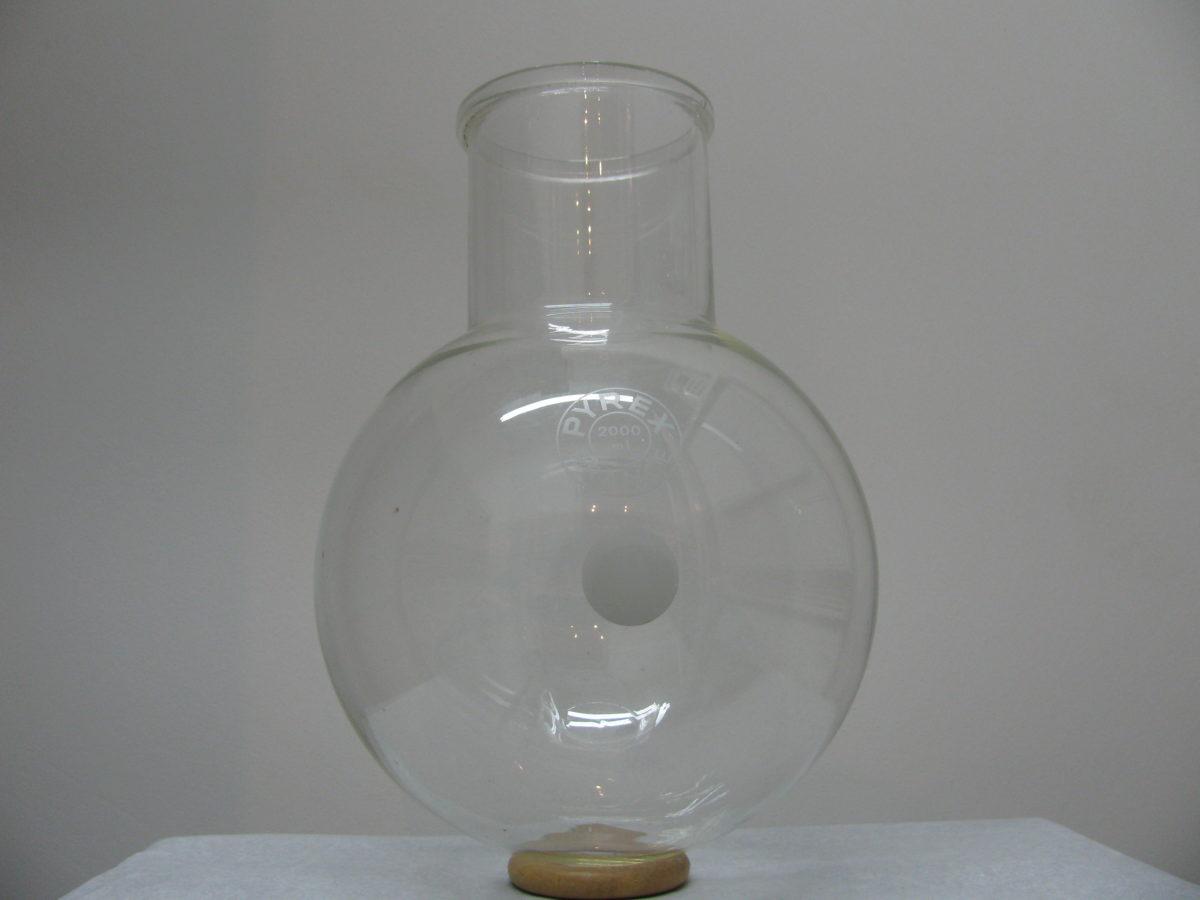 Rondbodemkolf wijdhals 2 liter